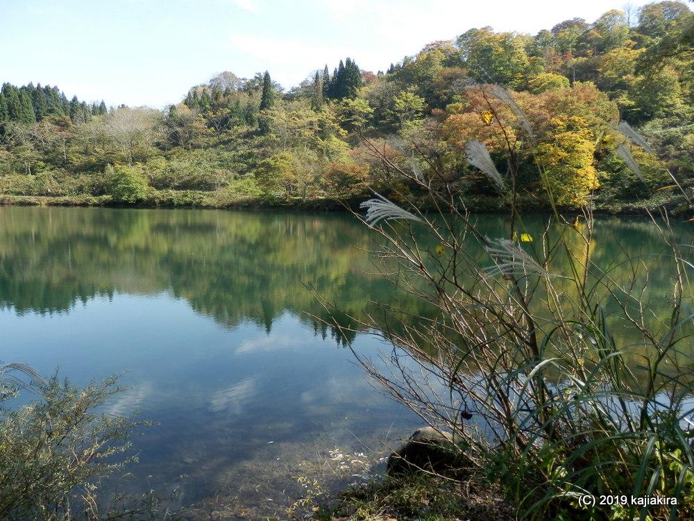 高浪の池と小滝川ヒスイ峡、そして明星山【糸魚川ジオパーク・小滝川ヒスイ峡】