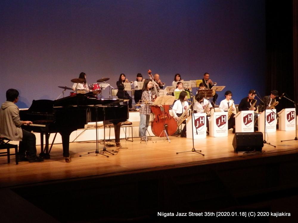 敬和学園高等学校器楽部 Jazz Hornets