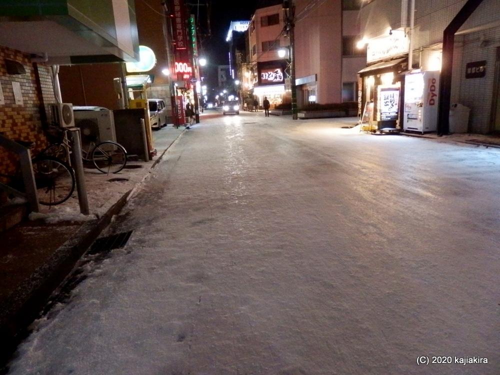 新潟駅前に「立春寒波」到来