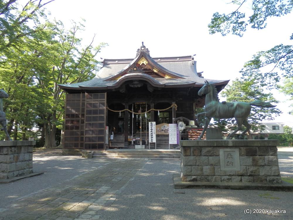 長岡市内・神社仏閣探訪(2)お城址の素敵空間・金峯神社(蔵王公園)