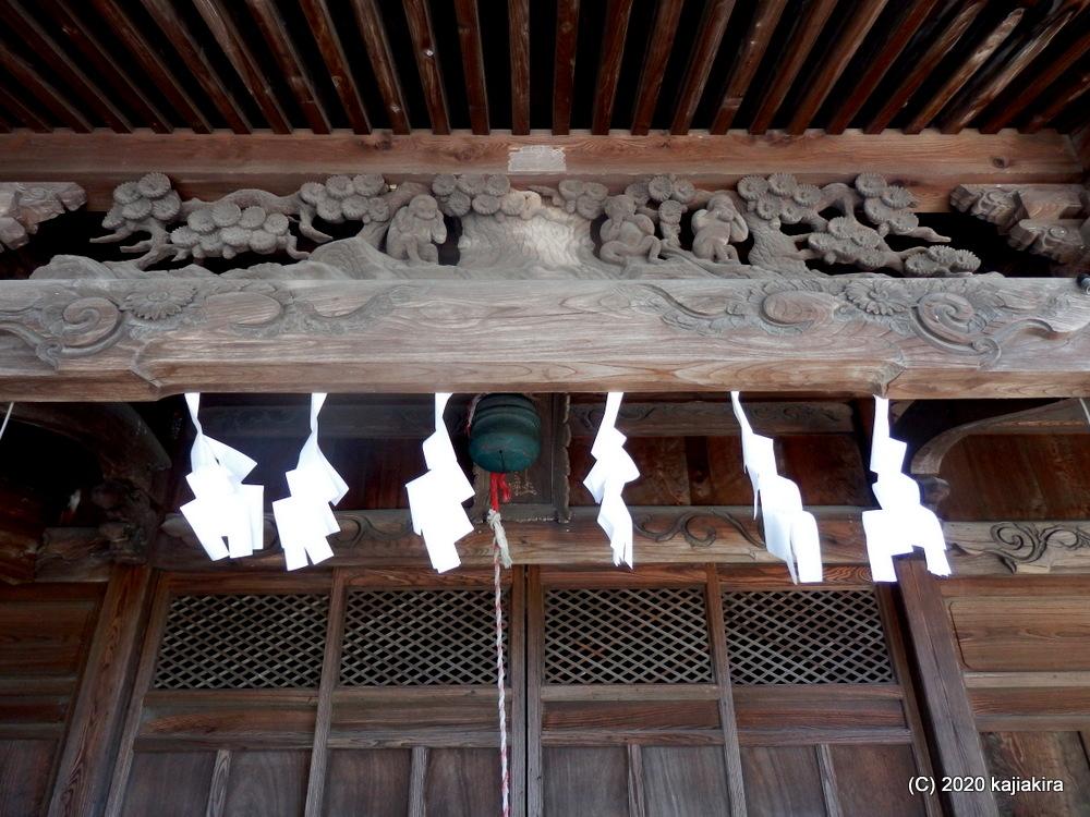 道開きの神様・猿田彦命を祭る、猿田彦神社(阿賀野市保田)