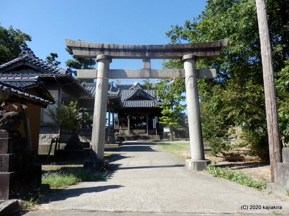大己貴神(大国主命)を祀り、1200年の歴史がある大形神社(新潟市東区河渡本町)