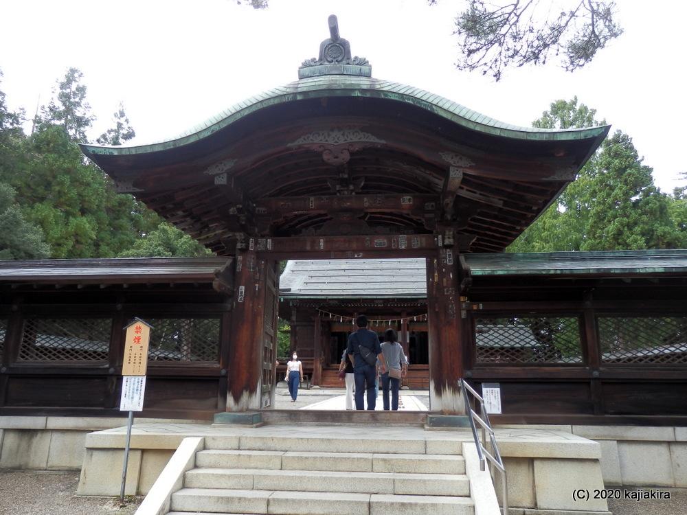 上杉謙信を祀る上杉神社(山形県米沢市)に初めて参拝