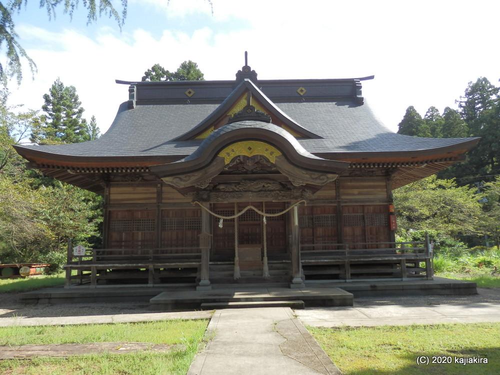 五泉市内神社巡り・2020秋「五泉八幡宮」から「日枝神社」まで