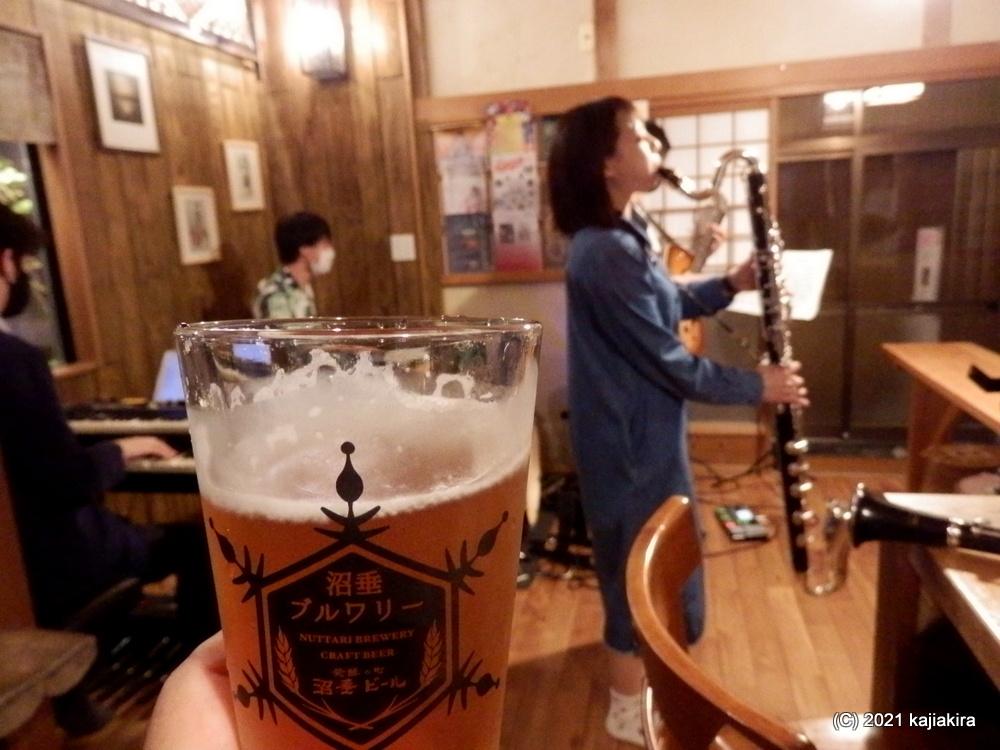 アルテット@発酵の町 沼垂ビール【JAZZ生ライブ】