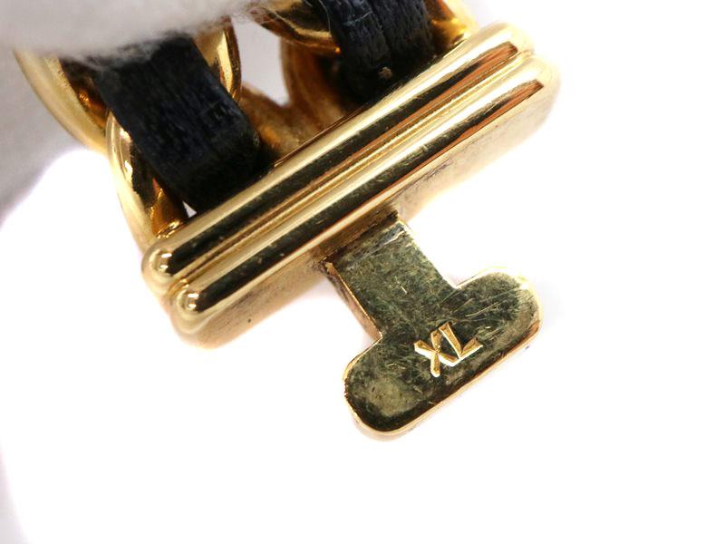 プルミエールのバックル金具に入ったサイズ表記