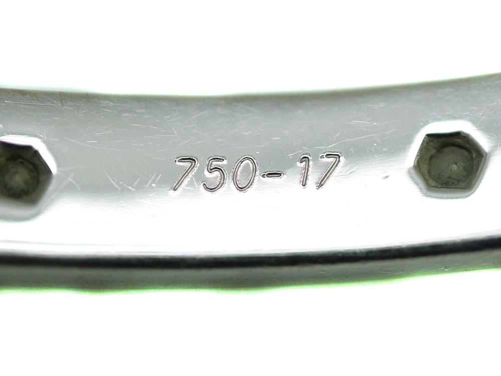 ラブブレス内側の750-17と刻印
