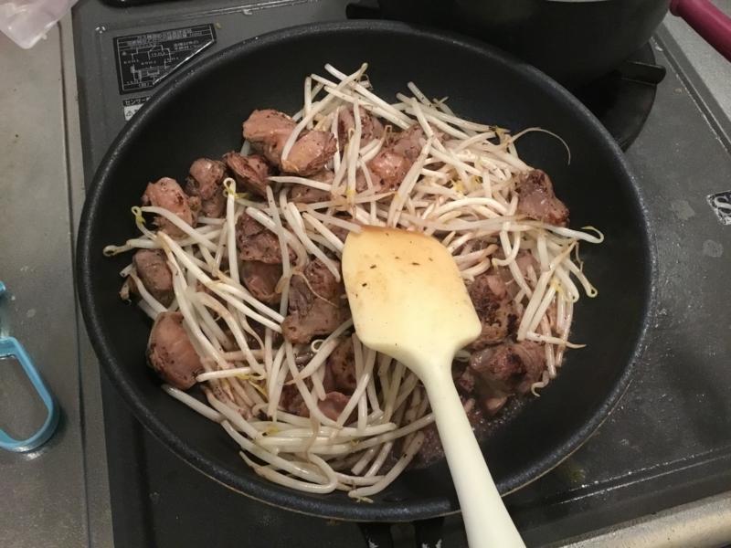 砂肝炒め2