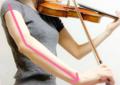 弓に圧力をかける4 東京・中野・練馬・江古田ヴァイオリン・ヴィオ
