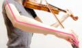 弓に圧力をかける3 東京・中野・練馬・江古田ヴァイオリン・ヴィオ
