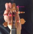 ペグで調弦する方法6 東京・中野・練馬・江古田ヴァイオリン・ヴィオ