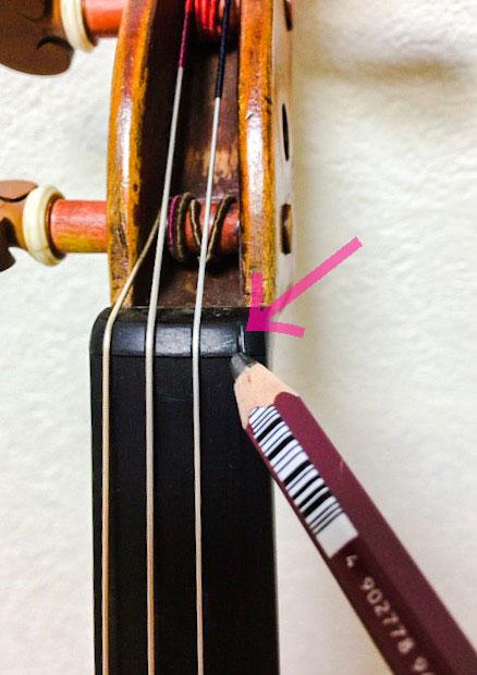 弦の張り替え方1 東京・中野・練馬・江古田ヴァイオリン・ヴィオラ・