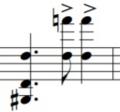 装飾音符の数え方2