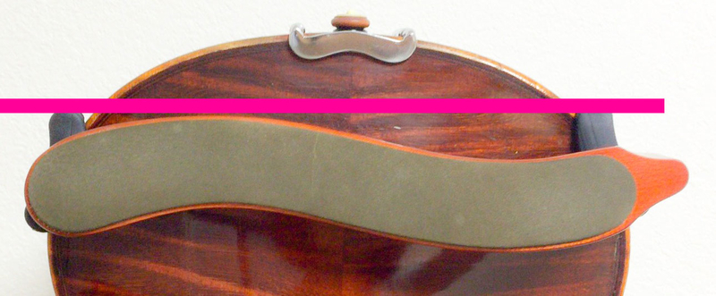 肩当てのつけ方7 東京・中野・練馬・江古田・ヴァイオリン・ヴィオラ・音楽教室