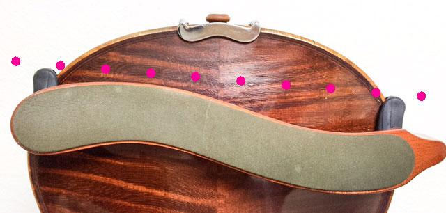 肩当てのつけ方10 東京・中野・練馬・江古田・ヴァイオリン・ヴィラ・音楽教室