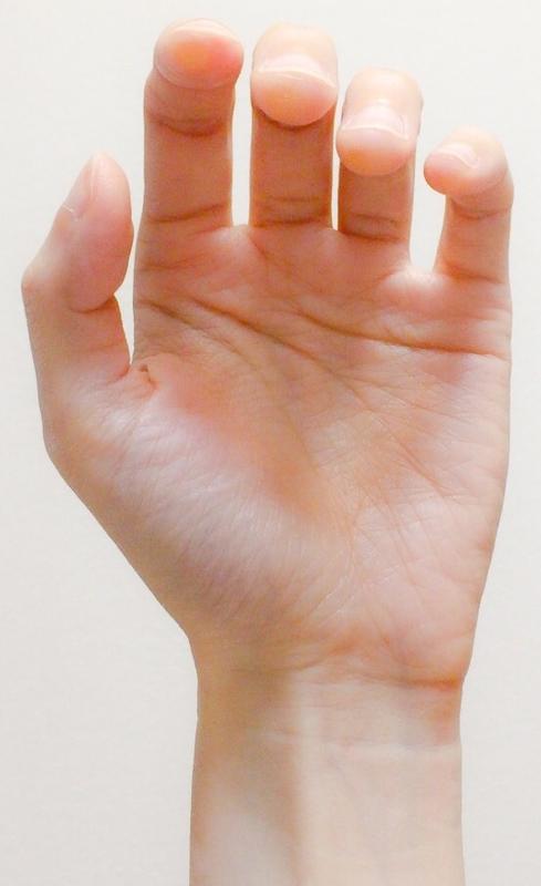 左手の親指の位置1 東京・中野・練馬・江古田・ヴァイオリン・ヴィオラ・音楽教室