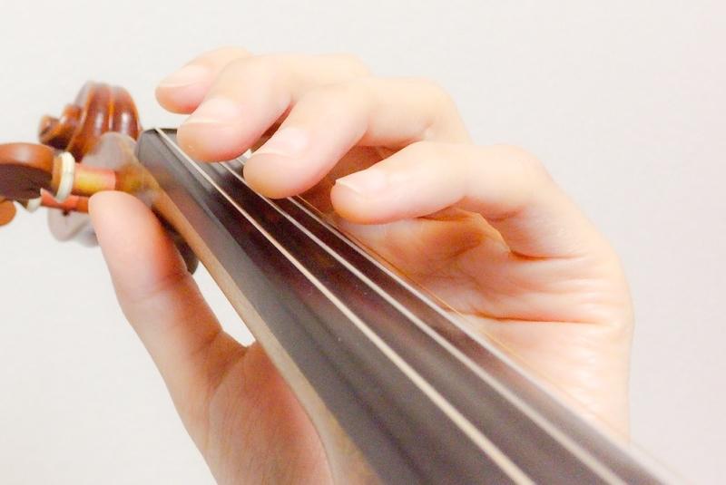 左手の親指の位置3 東京・中野・練馬・江古田・ヴァイオリン・ヴィオラ・音楽教室