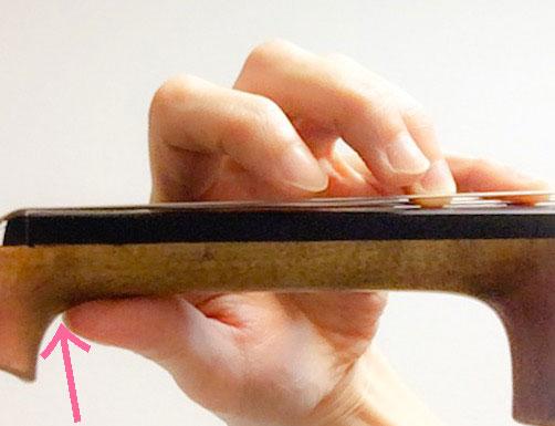 左手の親指の動き4 東京・中野・練馬・江古田・ヴァイオリン・ヴィオラ・音楽教室