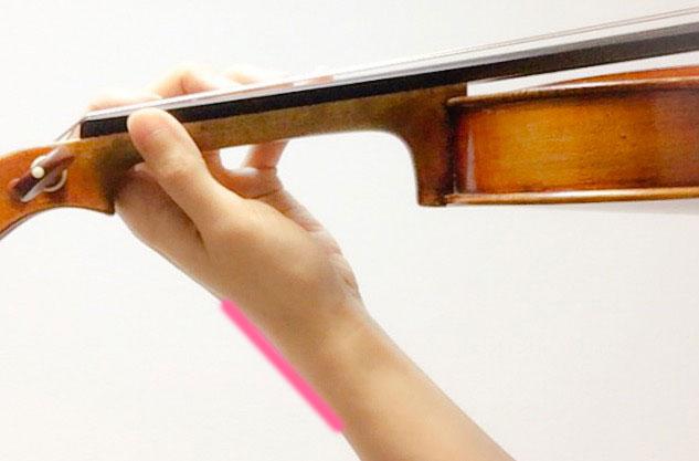 左手の形1 東京・中野・練馬・江古田・ヴァイオリン・ヴィオラ・音楽教室