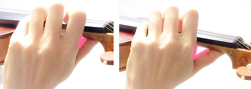 左手の形2 東京・中野・練馬・江古田・ヴァイオリン・ヴィオラ・音楽教室