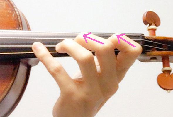 左手の形6 東京・中野・練馬・江古田・ヴァイオリン・ヴィオラ・音楽教室