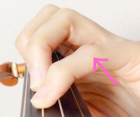 左手の形8 東京・中野・練馬・江古田・ヴァイオリン・ヴィオラ・音楽教室