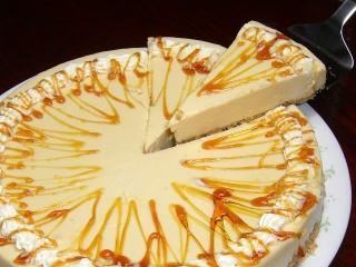 キャラメル・レアチーズケーキ