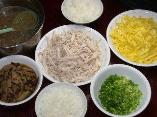 鶏飯(我が家流)