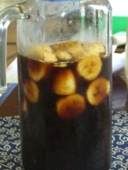 バナナ黒酢