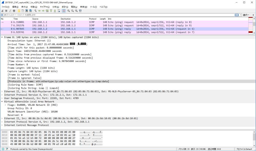 vQFX10000 で VXLAN+EVPN (L2 over L3 編) (original : 2017/01/03
