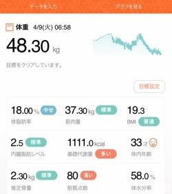 体脂肪率 体重 基礎代謝