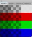 計算から生成したXPM画像とGdkPixbufを用いてガンマチャートをGTK+で表示