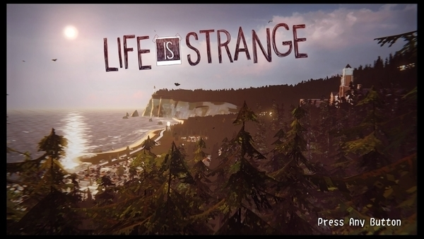LIFE IS STRANGEタイトル画面