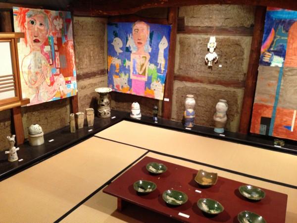谷口幸三郎展 2012 えをかくせいかつ 浦和 楽風より