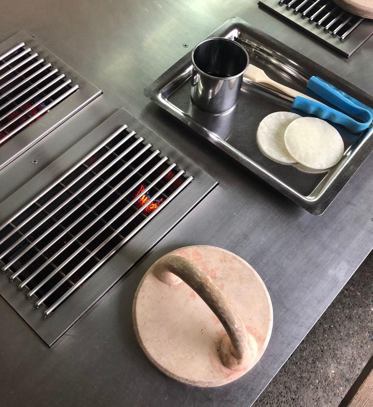 煎餅手焼き道具一式