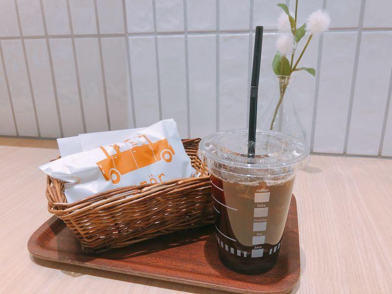 コーヒーとたいやき