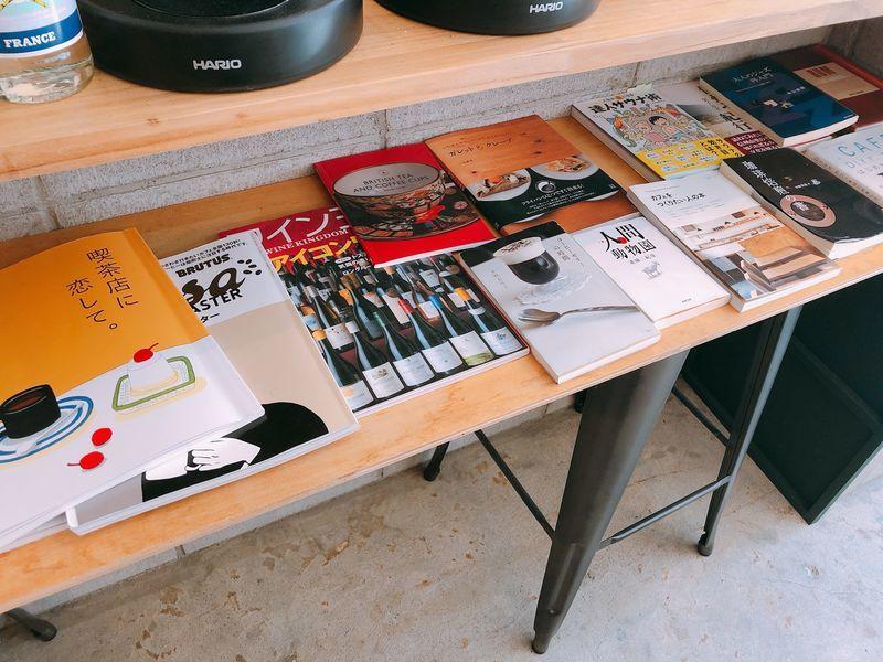 常備の書籍、雑誌