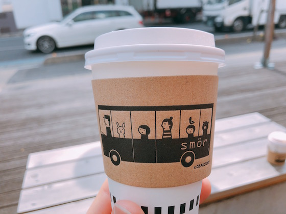 ブレンドコーヒー Sサイズ 280円
