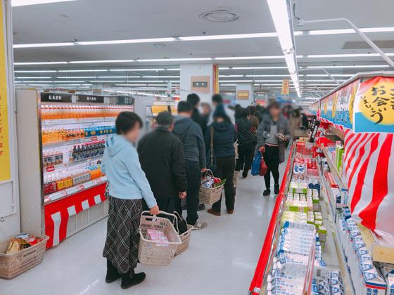 1階食品売り場の店内状況-6