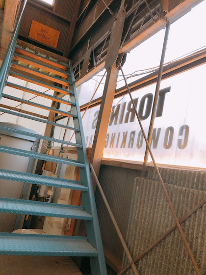 トリノスへの階段