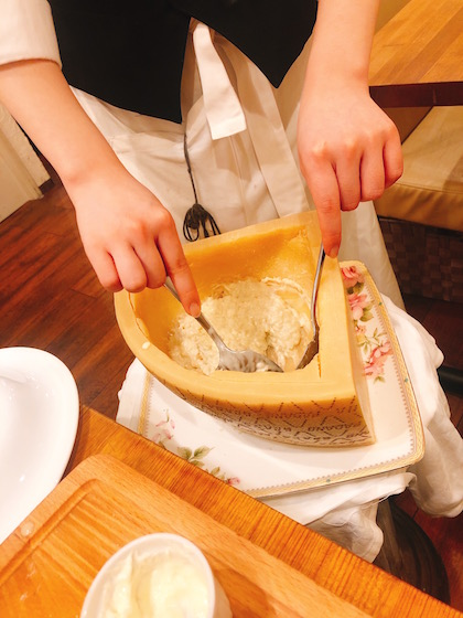 チーズリゾット