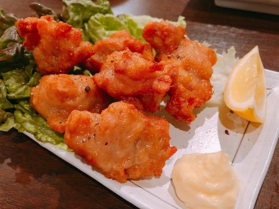 鶏のから揚げ(540円)