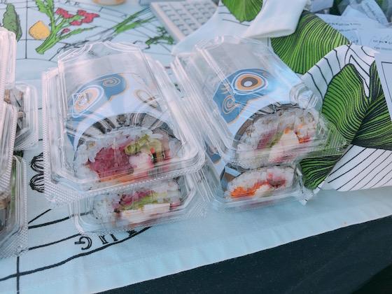 こいのぼり寿司ブリトー(500円)