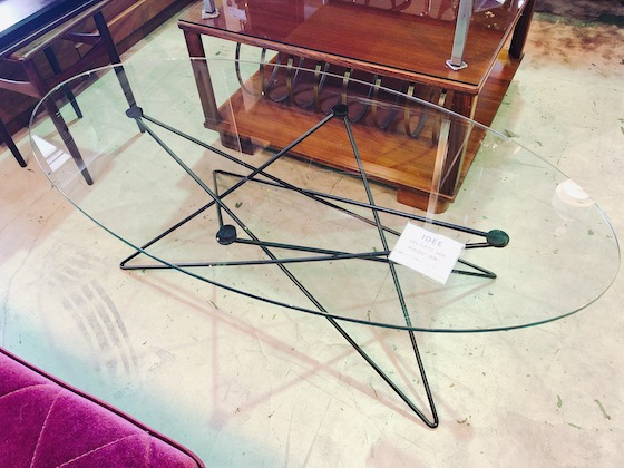 IDEE(イデー)ガラステーブル