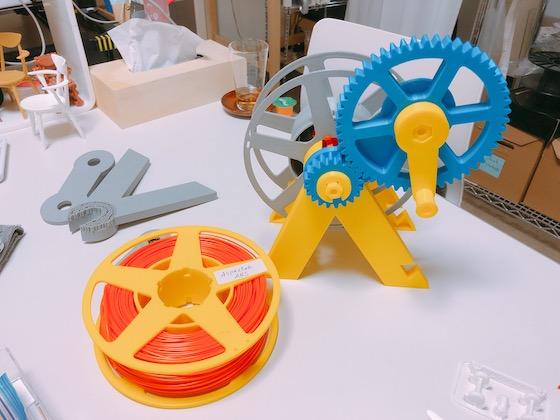 3Dプリンターの材料をまとめるPlacco工房オリジナルキット