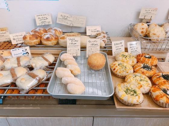 見た目がかわいいパンもたくさん!
