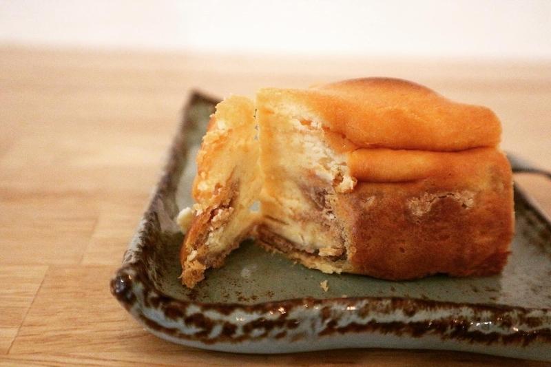 パイ生地のチーズケーキ