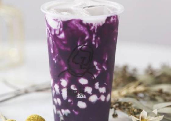 紫芋タピオカミルク ¥650-(Uber Eatsより引用)