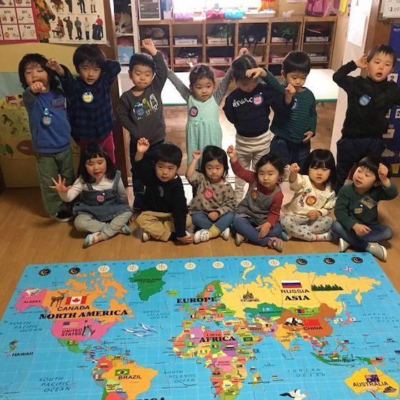 世界の国々を学びます