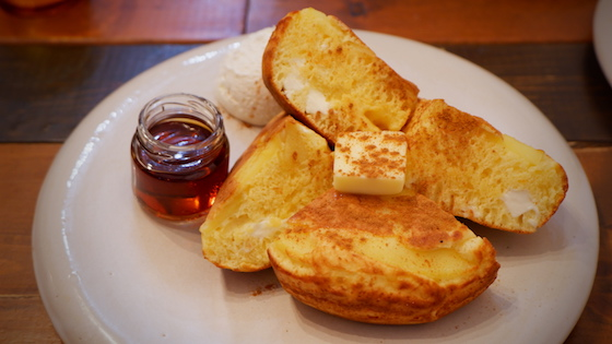 林檎クリームチーズほっとけーき ¥980